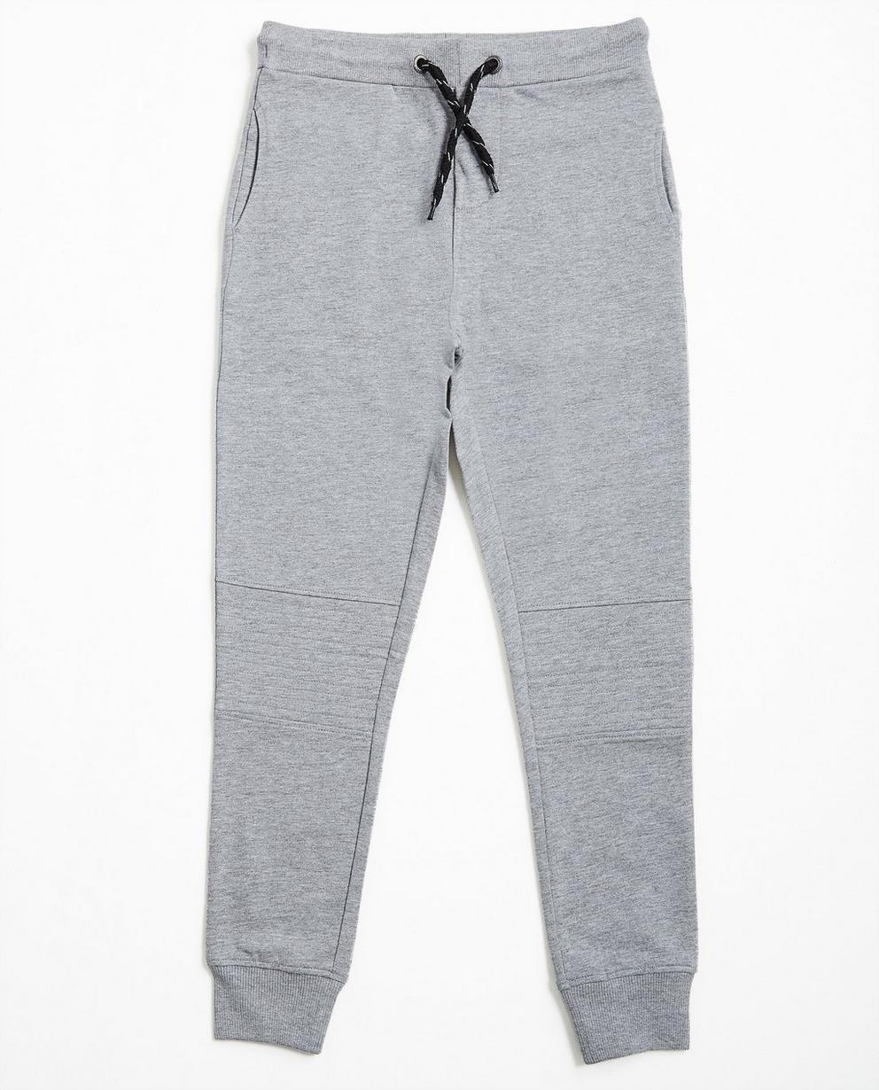 Pantalon molletonné gris - avec chevilles étroites - JBC